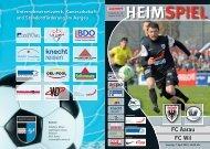 FCA-Matchzeitung HEIMSPIEL - FC Aarau