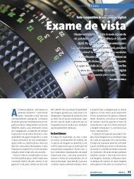 Exame de vista - Linux New Media