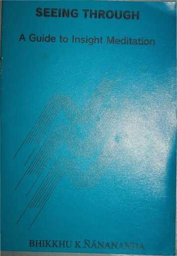 Seeing Through: A Guide to Insight Meditation - Sun Gazing