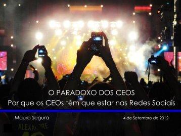 Mauro Segura - Por que os CEOs precisam estar ... - Digital Age 2.0