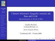 I Cataloghi Web dell'IGM