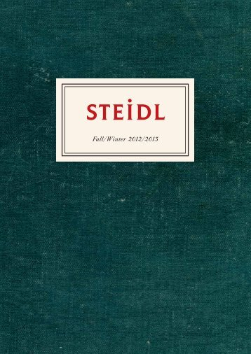 Fall/Winter 2012/2013 - Steidl