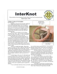 March - Frayed Knot Arts
