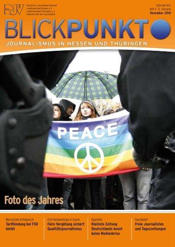 Blickpunkt Ausgabe 4-2010 BlickPunkt - DJV Thüringen