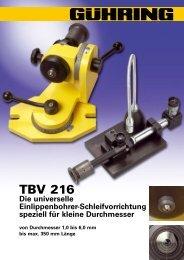 TBV 216 - Gühring oHG