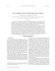 Data Assimilation Using an Ensemble Kalman Filter ... - CiteSeerX