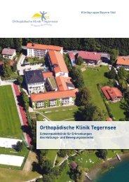 Klinikbroschüre der Orthopädischen Klinik Tegrensee (PDF, 1MB ...