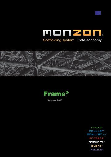 Product catalogue for Frame - Conform International