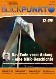 Blickpunkt Ausgabe 3-2011 - DJV Thüringen