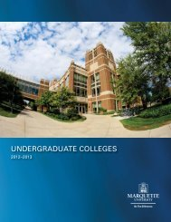 PDF Version - Marquette University Bulletin