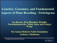 Joe Bouton - Bioeconomy Conference 2009