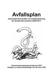 Avfallsplan - Sundsvall