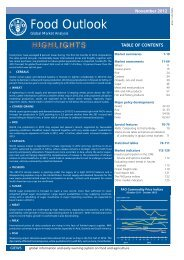 FAO Food Outlook November 2012