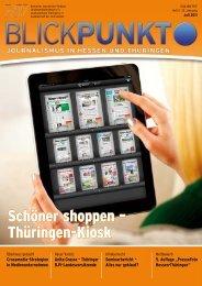 Blickpunkt Ausgabe 2-2011 - DJV Thüringen