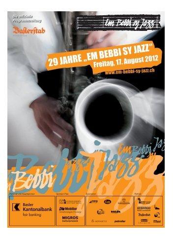 Die Mobiliar – seit 180 Jahren in Basel vertreten ... - Em Bebbi sy Jazz