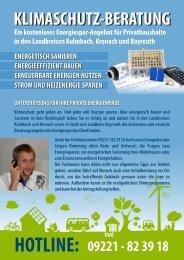 Klimaschutzberatung - Energieagentur Oberfranken e.V.