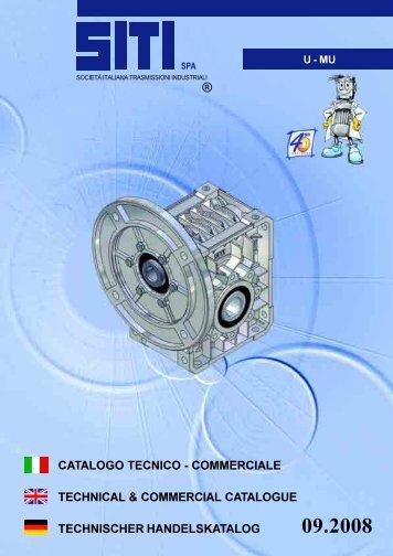 catalogo tecnico - commerciale technical & commercial ... - megabelt