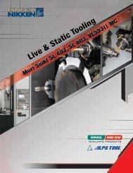 Live & Static Tooling - Lyndex-Nikken