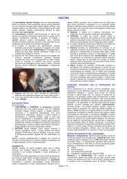 VACCINI - Sezione di Microbiologia