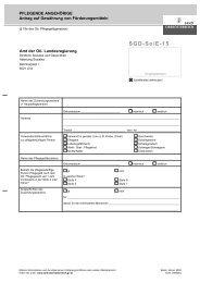 Formular SGD-So/E-15: Pflegende Angehörige - Antrag auf ...