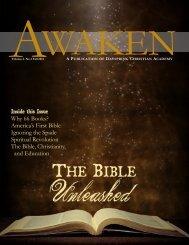 Awaken Spring 2012 - Dayspring Christian Academy