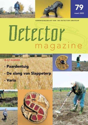Detector Magazine 79 - De Detector Amateur