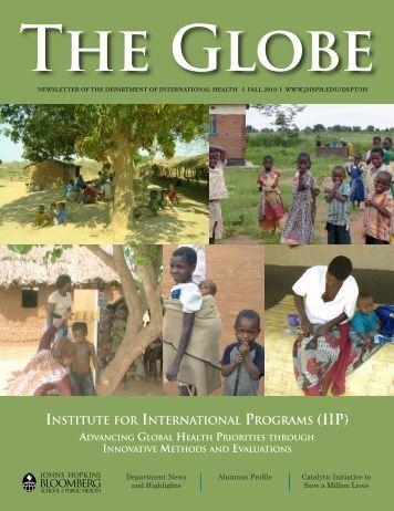 The Globe, Fall 2010 - Johns Hopkins Bloomberg School of Public ...