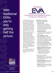 With traditional DVRs you're only getting half the picture. - Hospitality ...