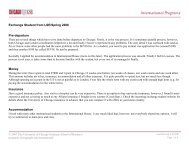 LSE exchange student feedback - Chicago Booth Portal