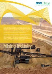 Mining Brochure - BHR Group