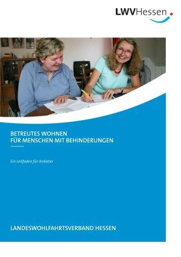 Broschüre Betreutes Wohnen 06.06.2011.pub