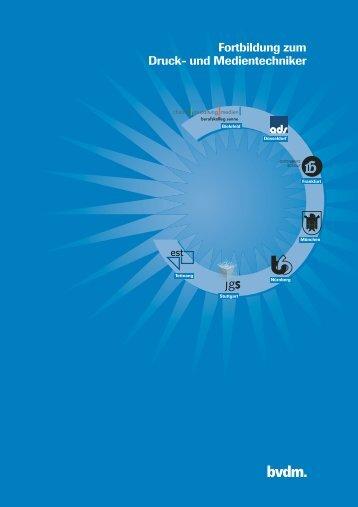 Fortbildung zum Druck- und Medientechniker - ZFA