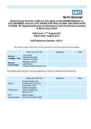 Chloramphenicol PGD - final July 11 doc.pdf - NHS North Somerset