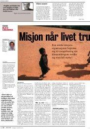 Misjon når livet trues - Misjonshøgskolen