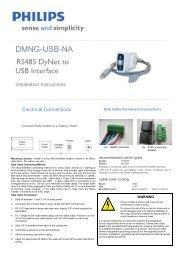 DMNG-USB-NA - Philips Lighting Controls