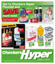 Get to Checkers Hyper Fleurdal and more now! - Find Specials