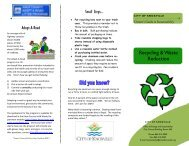Recycling [PDF] - City of Knoxville