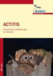 ACTITIS - Naturschutzinstitut Region Dresden