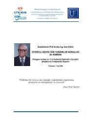 Istoricul dezvoltarii turbinelor hidraulice din Romania - uefiscdi