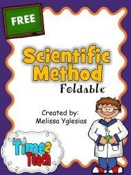 Scientific Method foldable - Cobb Learning