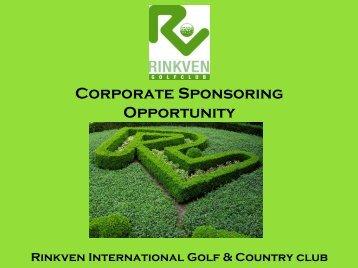 Corporate Sponsor - Rinkven Golf Club