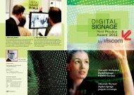 | Gesucht: Die besten Digital Signage Projekte Europas | Wanted ...