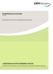 blindengeld in hessen - PRO RETINA Deutschland e. V.