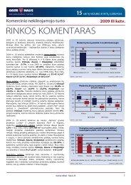 Komercinio NT rinkos komentaras 2009 m. III ketv. - Ober-Haus