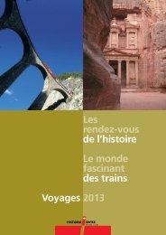 Brochure en français - Historia Swiss