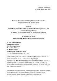 Prof. Dr. Thomas Deufel - Gedenkstätte Buchenwald