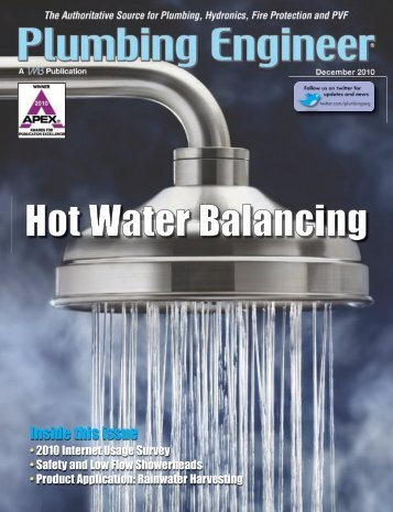 Hot Water Balancing - Plumbing Engineer