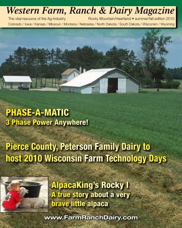 Western Farm, Ranch & Dairy Magazine - Ritz Family Publishing, Inc.