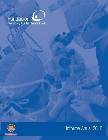 Informe Anual 2010 - Hospital San José Tec de Monterrey