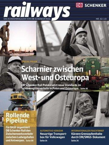 Scharnier zwischen West- und Osteuropa - DB Schenker Rail